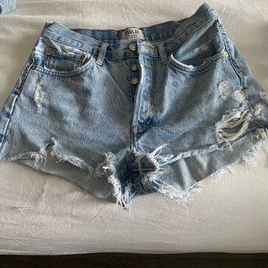 Agolde shorts 💙